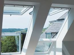 Dormer Window With Balcony Innovative Skylight Window Easily Transforms Into Rooftop Balcony