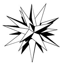 moravian star template eliolera com