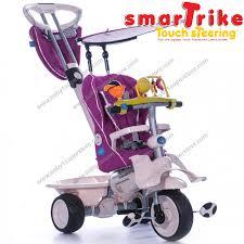 Smart Trike Recliner Smart Trike триколка с педали и дръжка 4 в 1 Recliner в лилаво