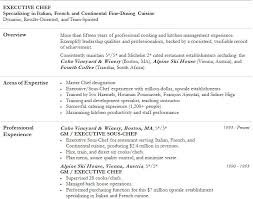 Cook Resume Sample Pdf by Executive Pastry Chef Cover Letter