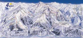 Piste Maps For Italian Ski by Verbier Ski Resort Piste Map