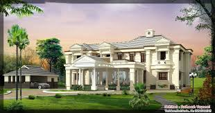 luxury house plans with photos in kerala homeca
