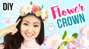 diy halloween costume 2017 diy snapchat flower crown cute u0026 cheap last minute diy halloween