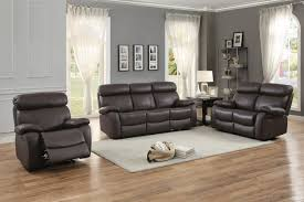 Top Grain Leather Living Room Set by Homelegance Pendu Reclining Sofa Set Top Grain Leather Match