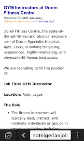 post entry level industrial trainee jobs here for those without