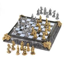 Medieval Dragon Home Decor by Medieval Chess Set