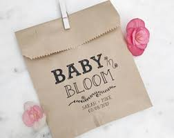 baby shower favor bags shower favor bags etsy