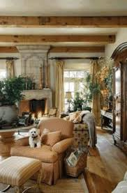 french style living room natural wood frame glazed windows white