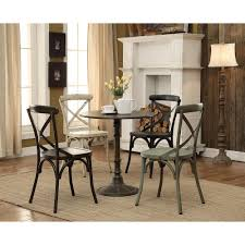 coaster oswego collection bronze dining table 100063 the home depot