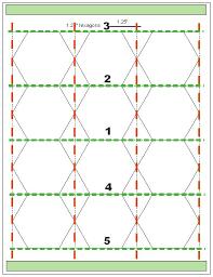 tips for cutting hexagon templates geta u0027s quilting studio