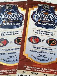 winter classic tickets arrived ttb