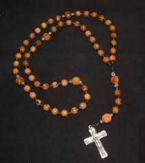 wooden rosaries unique handmade olive wood rosary with handtied knots and a celtic