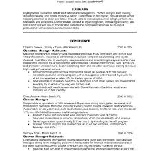 Bank Manager Resume Samples by Restaurant Manager Resume Sample Haadyaooverbayresort Com