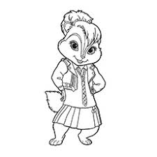 Alvin And The Chipmunks Christmas Ornament - top 25 free printable alvin and the chipmunks coloring pages online