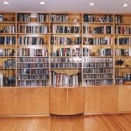 custom wood modern traditional bookcases and wall units