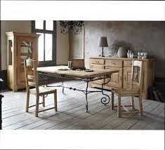 table de cuisine en fer forgé cuisine bois table cuisine bois et fer forge