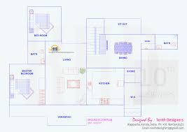 kerala home design 1600 sq feet 2400 sq feet villa exterior and floor plan kerala home design