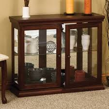 Wildon Home Console Table Wildon Home Console Curio Cabinet Walmart Com