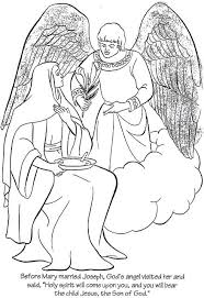 birth of jesus coloring page before jesus was born coloring page