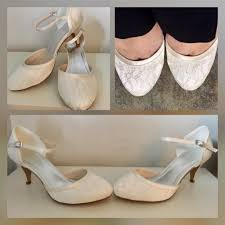 found my wedding shoes for an absolute bargain and just in time