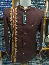 desain jas koko model fashion busana muslim pria jas koko terbaru februari tahun