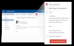 Business Outlook Email by Wunderlist For Outlook