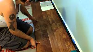 Legends Laminate Flooring Elizabeth Installs Handscraped Engineered Hardwood Floor Youtube