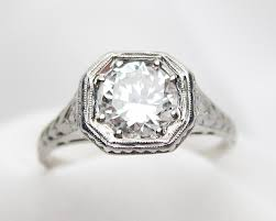deco engagement rings vintage engagement rings isadoras antique jewelry