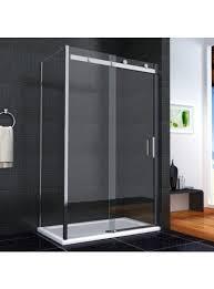 1000 Sliding Shower Door Aquaspa Ultimate Frameless Bundle 1000 X 760mm Sliding Shower