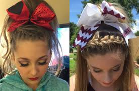 front poof hairstyles absolutely cute cheer hairstyles any cheerleader will love