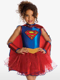 Halloween Costumes Supergirl Superman Fancy Dress Costumes Party Delights