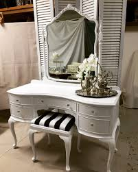 Small White Vanity Table Small Dressing Table Small Ornate Italian Designer Dressing
