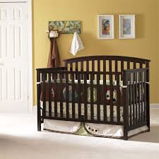 Graco Freeport 4 In 1 Convertible Crib Graco Freeport 4 In 1 Convertible Crib In Espresso 04520 479