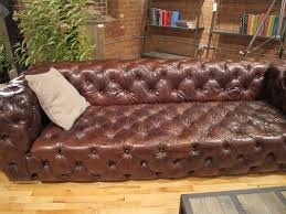Tufted Leather Sofa Bed Living Room Design Creative Tufted Leather Sofa For Living Room