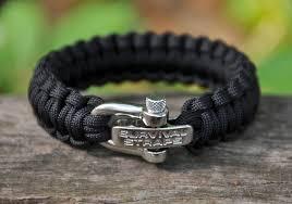 adjustable paracord bracelet images Survival straps paracord bracelet with adj ss shackle sunflower jpg