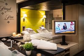 whirlpool im schlafzimmer studio ferienwohnung see bütgenbach ardennen belgien