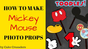 mickey mouse photo booth props how to mickey mouse photo props plus free printables included