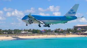 Beach Patio Sint Maarten Boeing 747 Landing From Sonesta Maho Beach Patio