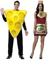 couples costume wine and cheese couples costumes clothing