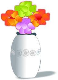 Clipart Vase Of Flowers Flowers In Vase 2 Clip Art At Clker Com Vector Clip Art Online