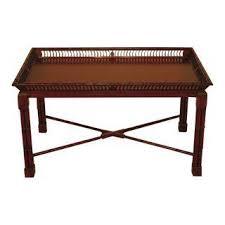 Yew Side Table Vintage U0026 Used John Widdicomb Tables Chairish