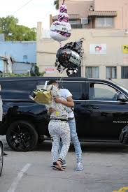30th birthday flowers and balloons blac chyna s 18 year boyfriend ybn almighty surprised
