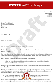 sample complaint letter coworker bullying resume acierta us