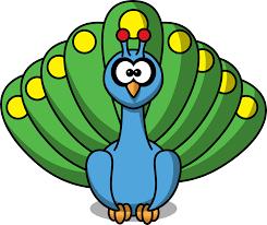 clipartist net clip art studiofibonacci cartoon peacock