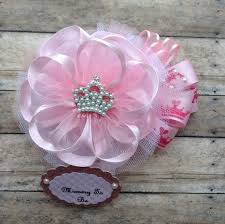 princess baby shower corsage mommy to be corsage princess baby