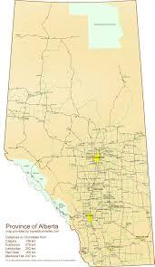 Calgary Alberta Canada Map by Alberta Tourist Map Alberta U2022 Mappery