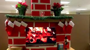 crazy cardboard fireplace youtube