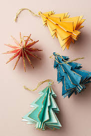 wooden tree ornament set anthropologie