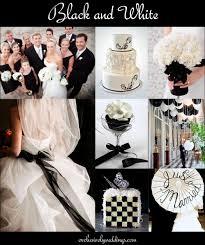 black and white wedding ideas black and white weddings casadebormela