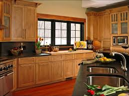 kitchen black wood file cabinet cherry oak cabinets rustic